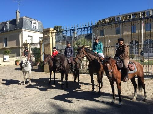 ballades équestres Yvelines