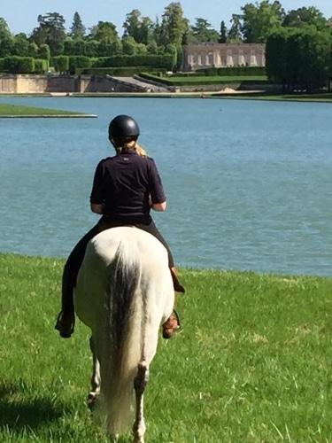 balade à cheval sur Paris