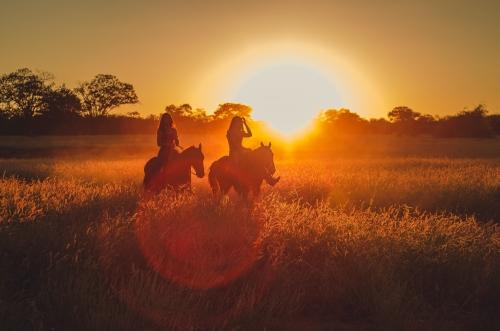 saint valentin à cheval